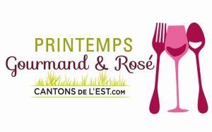 Printemps gourmand et rosé